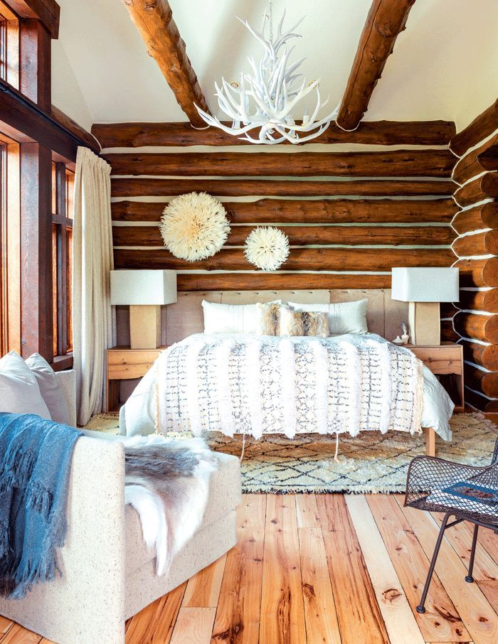 This wilderness getaway fuses modern and rustic to create a whole new aesthetic that feels like home.