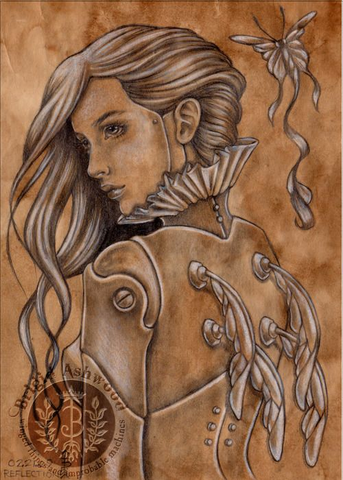 WIN ORIGINAL ART! I'm GIVING AWAY this original graphite steampunk fairy doll drawing. Enter to WIN! https://www.facebook.com/BrigidAshwoodArt/app_228910107186452 PLEASE SHARE THIS