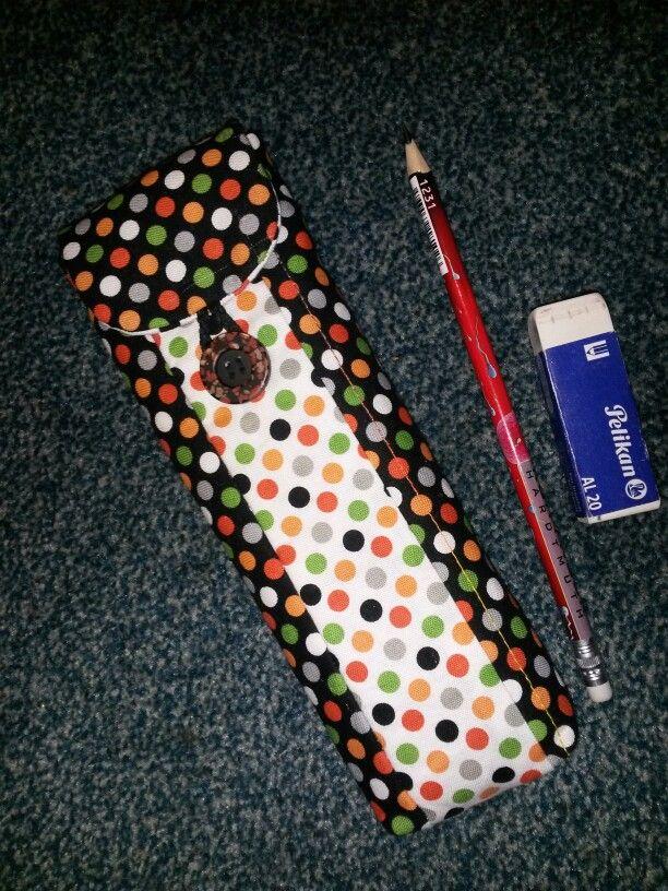 Patchwork, pouzdro na tužky