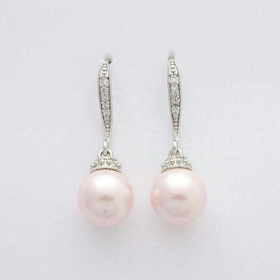 Brautschmuck ohrringe hängend  Die 25+ besten Cubic zirconia earrings Ideen auf Pinterest ...