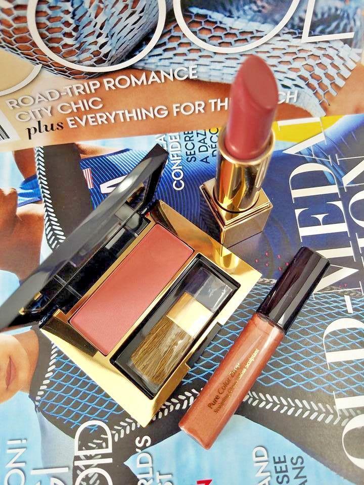 3 PC Estee Lauder Makeup Set Pure Color Envy Sculpting Blush Lipstic Gloss NEW  | eBay