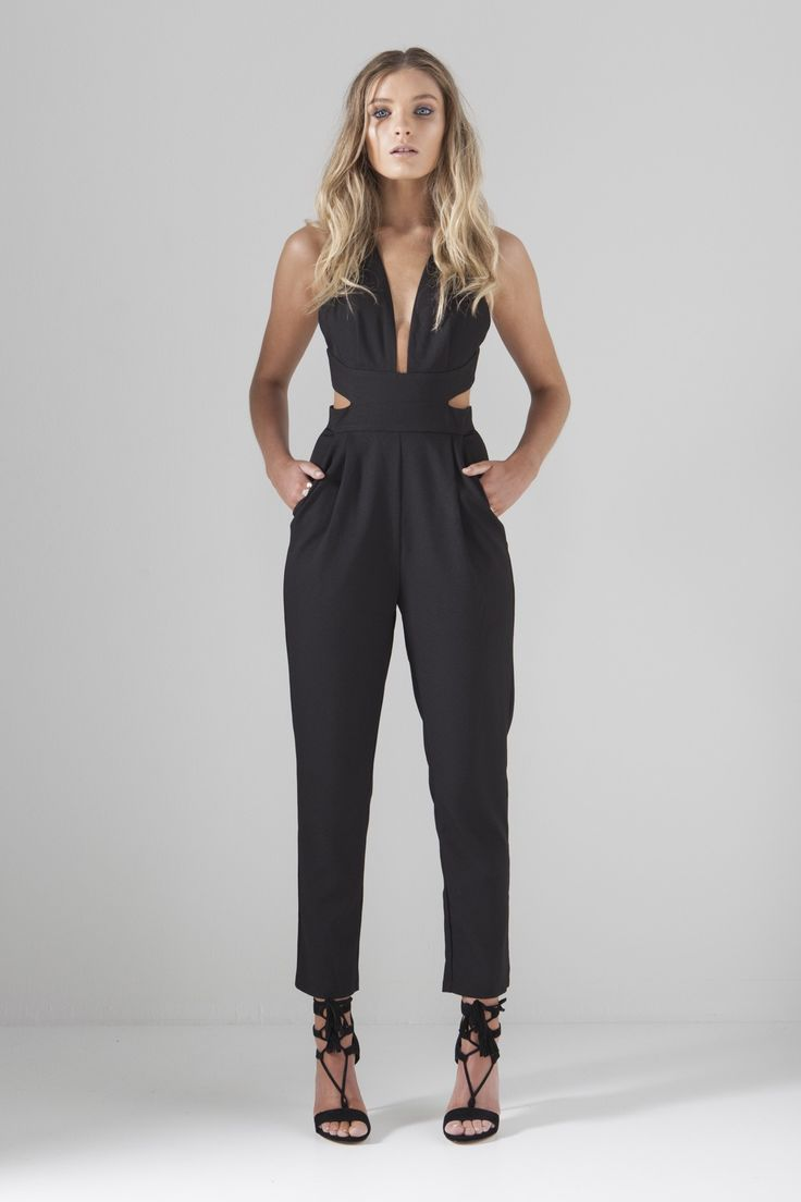 TAKE A BOW JUMPSUIT - Mossman