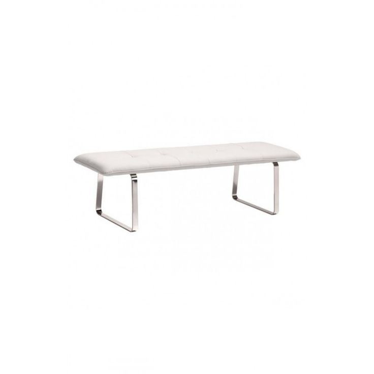 Simply Modern White Bench https://www.studio9furniture.com/bedroom/benches/cartierville-bench-white  Simple yet gives enough comfort, this bench works well with any space either in a closet, a locker room or at the end of your bed.