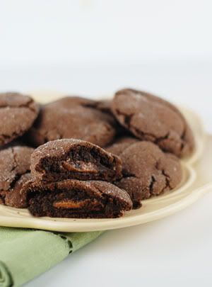 I want to share with you my hands down, absolute favorite cookie recipe – Chocolate Caramel Rolo Cookies.