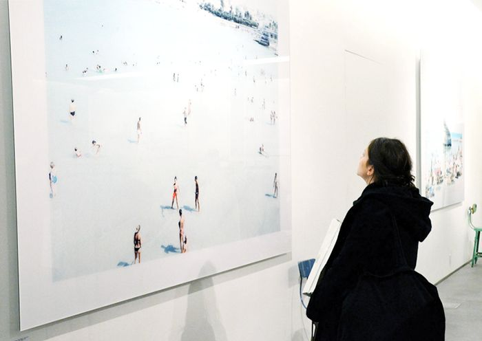 From the #archive: #Opening #massimovitali at #agnèsb , #ny \ 2011-12