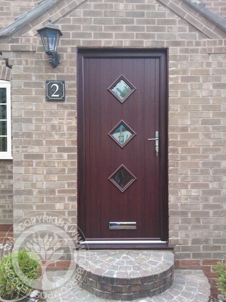 Composite doors fitted front doormodern upvc front doors for Exterior doors fitted