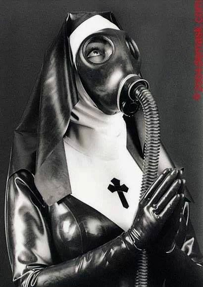Gas Mask Fetish - Real fetish tube