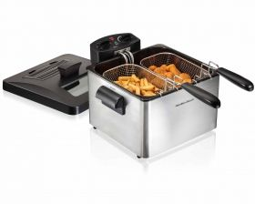 Professional-Style Deep Fryer | Deep Fryer | Hamilton Beach®