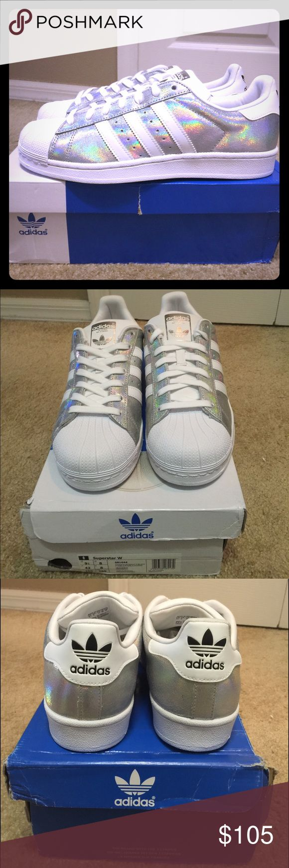 Adidas Hologram sneakers*limited edition* Brand new Adidas only exclusive to the UK. Very rare sneakers, cannot find them anywhere. Adidas Shoes Sneakers