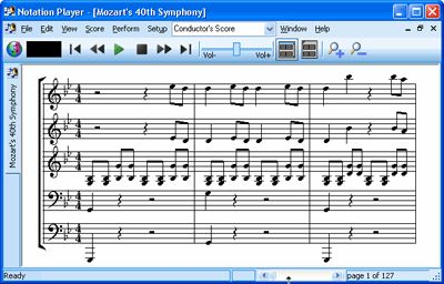 Notation Software - Free MIDI player