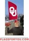 """Oklahoma Sooners Tailgate Flag 42"""" x 20"""""""