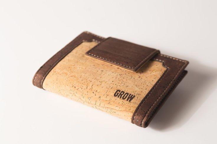 Grow's Quercus Phellos Light Cork Wallet for Woman