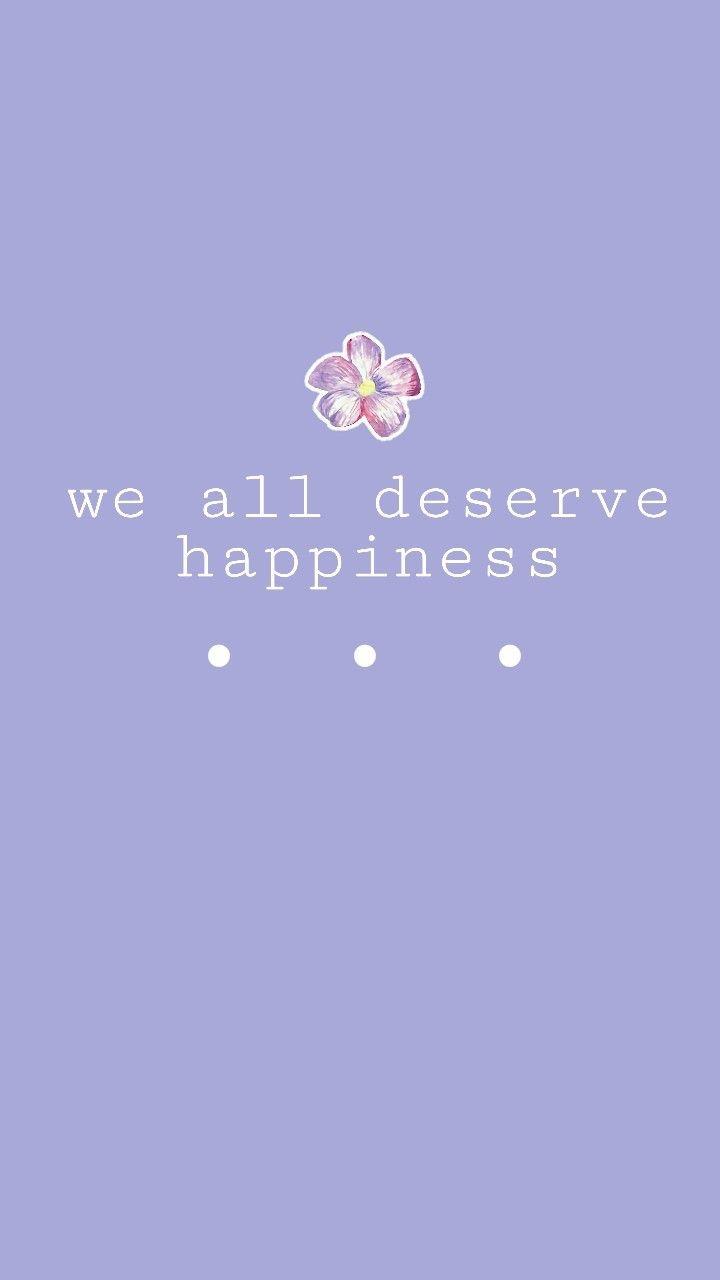 Aeathetic Wallpaper Quote Tumblr Purple Love Life Happiness