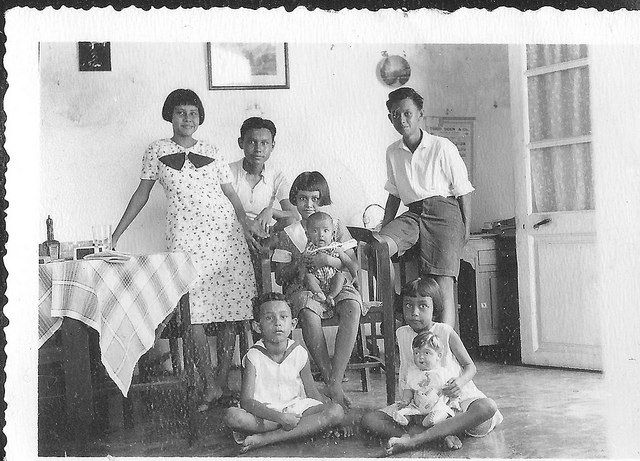 Van Den Berg's neighbors the Matray family in the Dutch East Indies around 1930 | by Karin Riper († 24 April 2015)