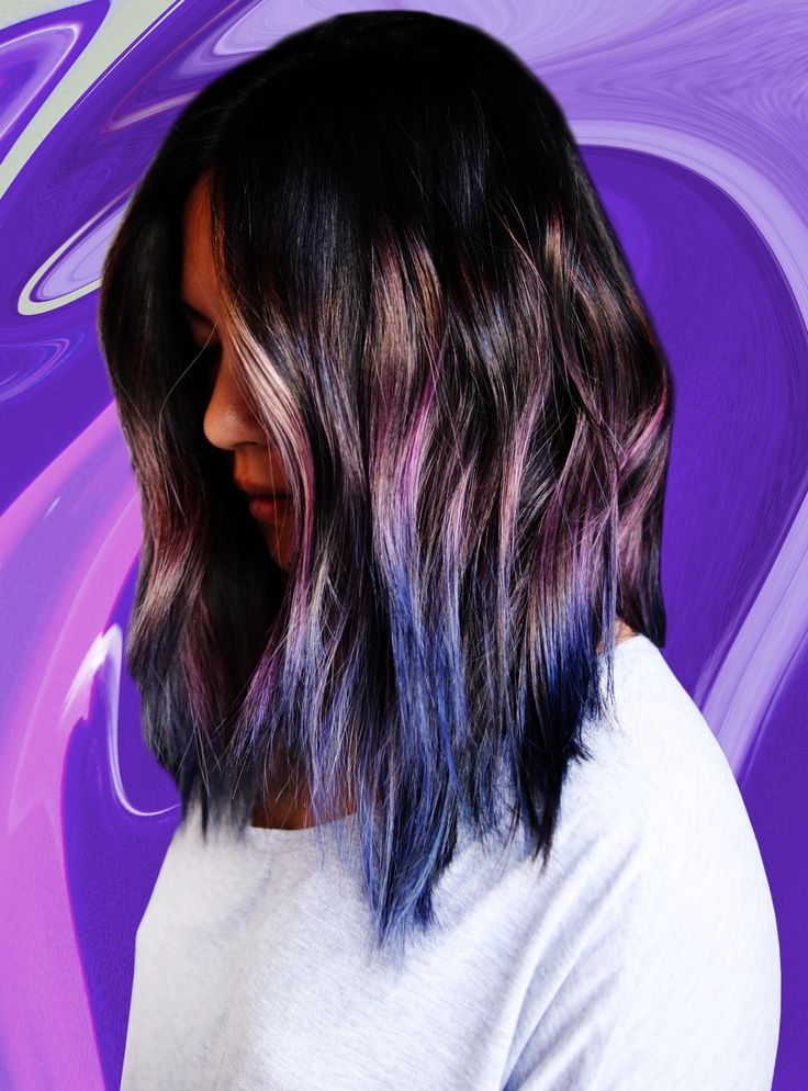 """Geode Hair"" Is The L.A. Color Trend You're About To See Everywhere+#refinery29"