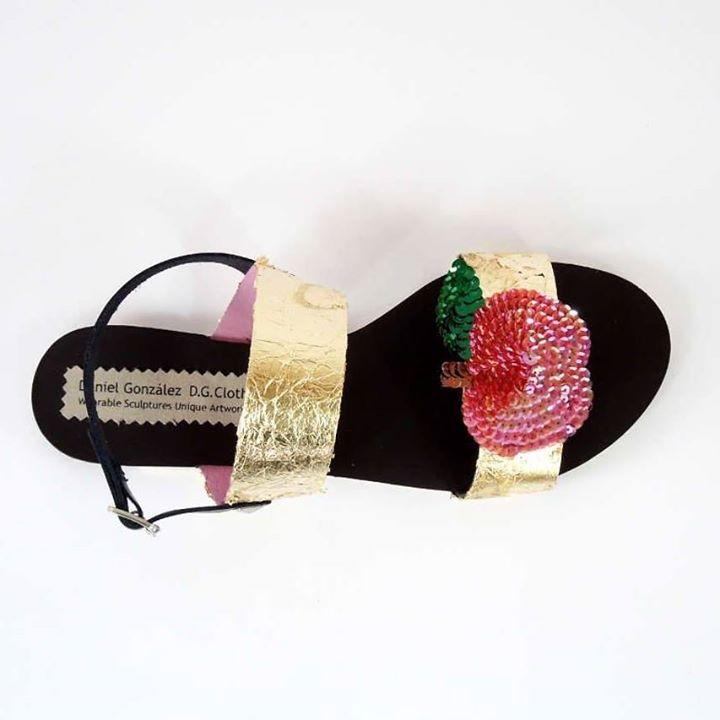 Daniel González D.G.Clothes Project Bastardisation slippers 2017 unique piece shop with us dgclothesproject.bigcartel.com
