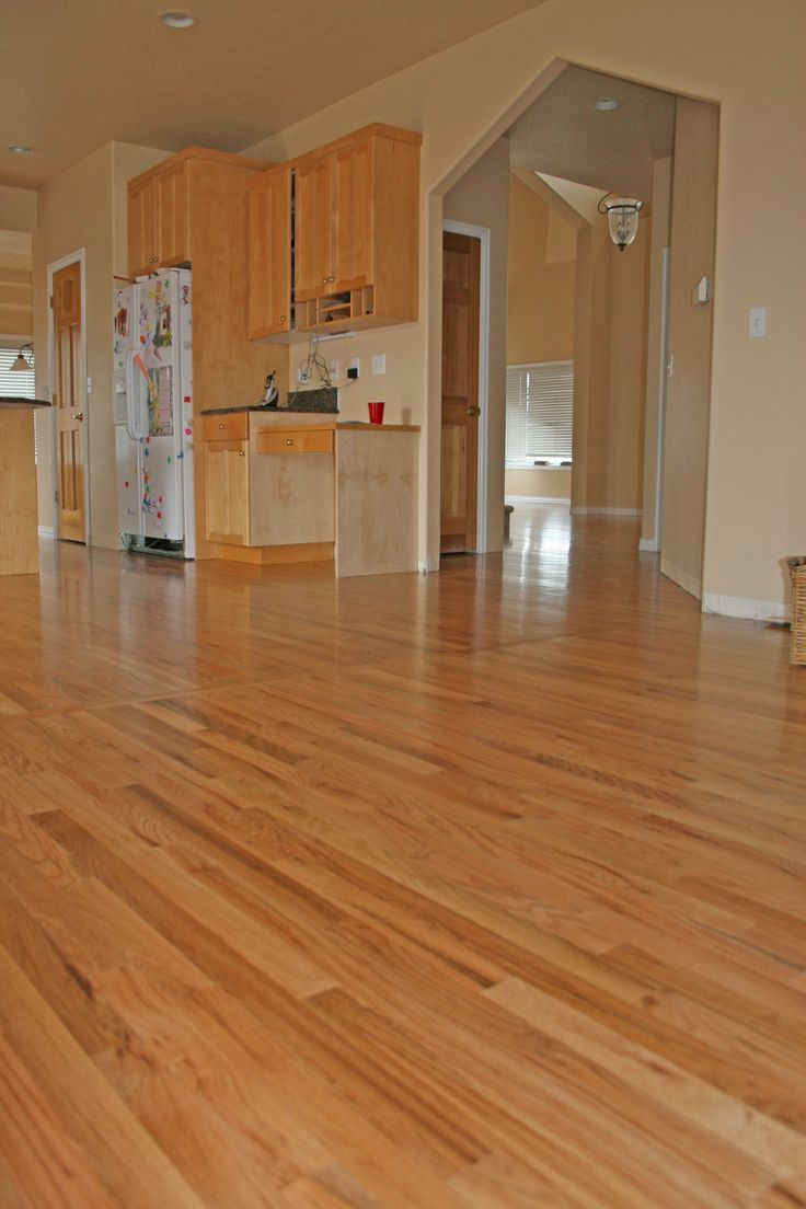 Red oak hardwood flooring natural red oak main french for Main floor flooring ideas