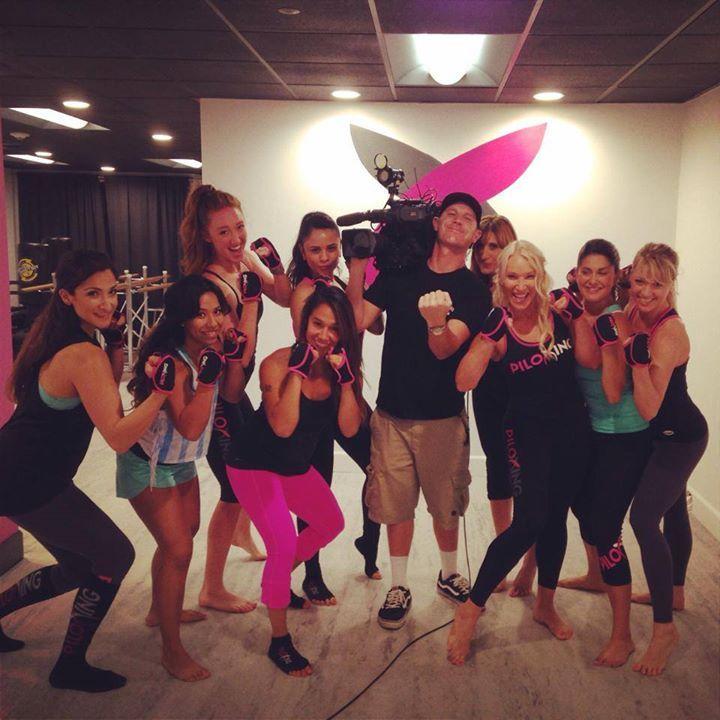 Piloxing on KTLA Channel 5 News - July 19 2014 #alvasbfm #piloxing #barre #fitness #workout #ktla