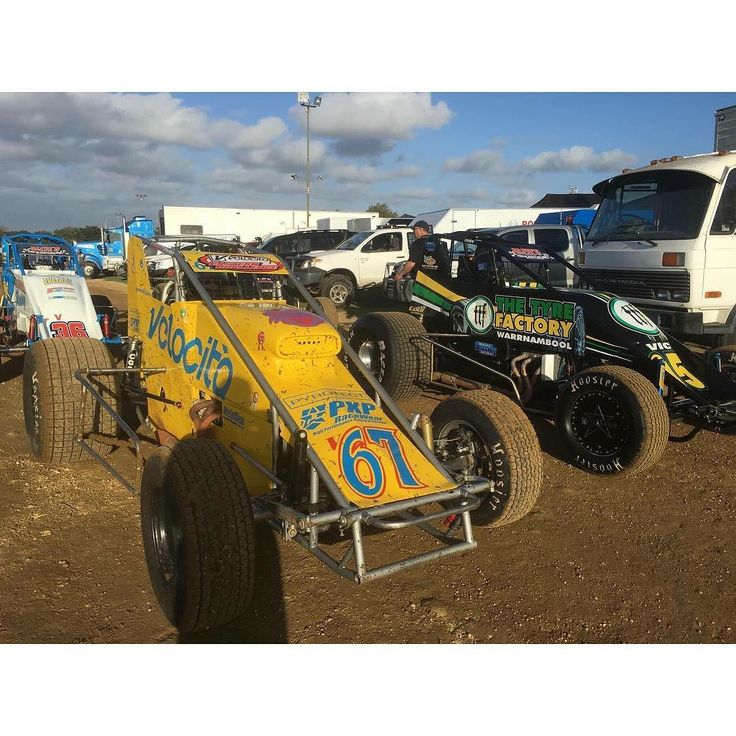 Keen to get back to the high banks of Premier! Hopefully Luke will make it further than the infield next time...  @premierspeedway #wingless #winglesssprint #speedway #sprintcar #sprintcars #dirttracklife #dirttrackracing #racergirl #racerchick #awsr #v67 #warrnambool #premierspeedway by jaimieleexox