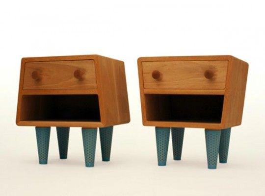 Mesas de noche | Bedside table | Table de chevet : design Socks