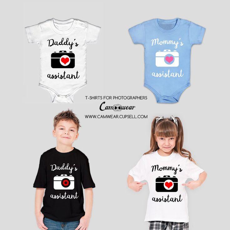 Photography kid t-shirt child. Body kidwear photography camera from Camwear. Gift for photographer. https://camwear.cupsell.com/product/2161144-product-2161144.html