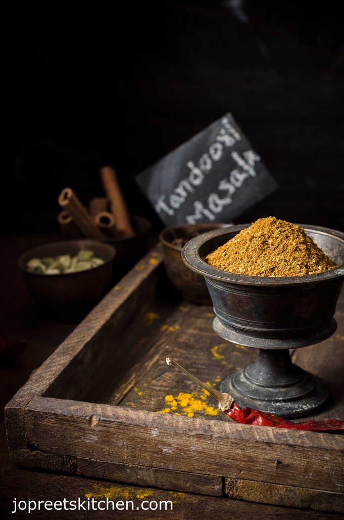 Homemade Tandoori Masala Powder Recipe - blend of Mixed Indian Spices