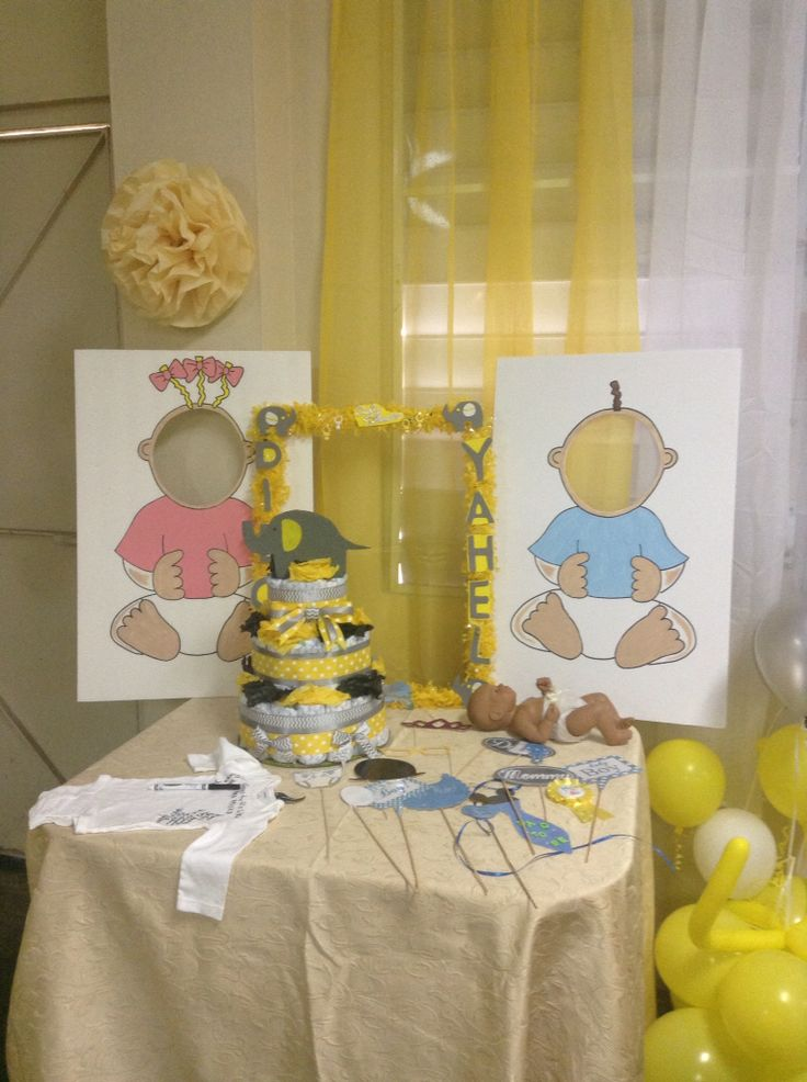 Baby shower para retratarse