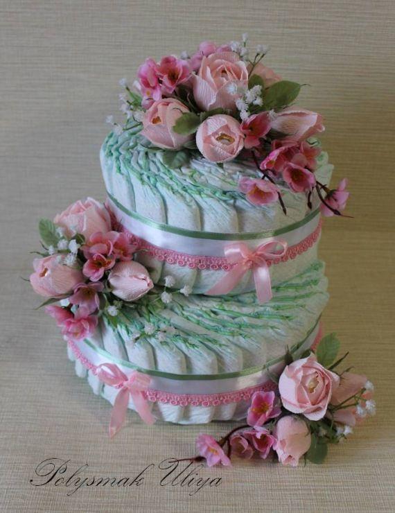 Gallery.ru / Фото #14 - Подарки из памперсов - Baby Cake - pinata-kr