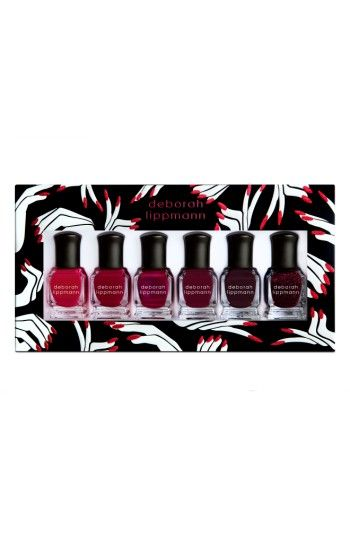 Free shipping and returns on Deborah Lippman Lady in Red Nail Color (Nordstrom Exclusive) ($72 Value) at Nordstrom.com. What it is: A limited-edition six-piece collection of top-selling nail colors plus all new ones, too.What it does: Indulge in the brightest and hottest red creme to the deepest and sexiest bordeaux. Whether you are classic, vampy or sophisticated, these reds make the ultimate statement.Shades include:- Little Red Corvette- Better Off Red- Red Blooded Woman- Red Red Wine…