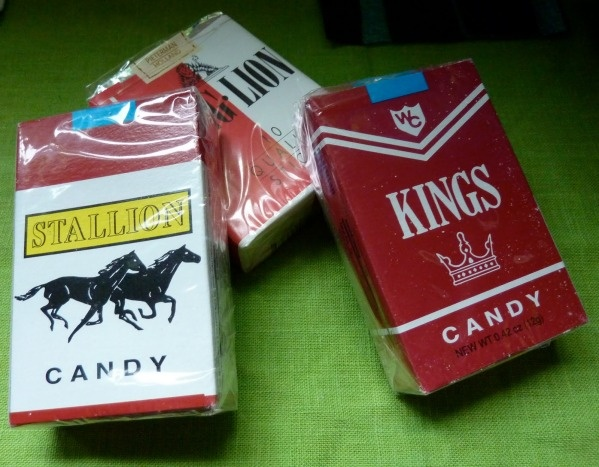 Check out Candy Cigarettes and Cigars  from Food of the 90's