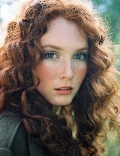 Beautiful Irish Girl  Natural Redhead, Beautiful Red Hair -7760