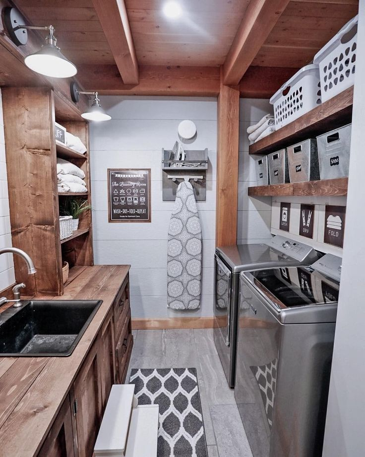 """776 Likes, 9 Comments - Better Homes & Gardens (@betterhomesandgardens) on Instagram: """"A laundry room should be inspiring because, let's be honest, it's the last thing we want to do,…"""""""