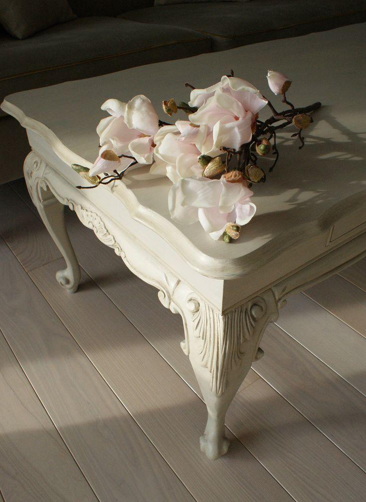 Lush Design - antic coffe table renovated