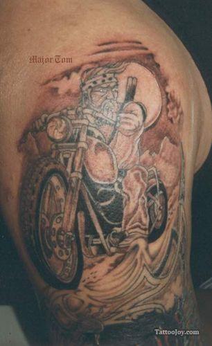 Biker Tattoo | Tattoo inspiration | Pinterest | Biker ...