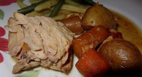 Longe de porc balsamique et érable à la mijoteuse | Recettes du Québec