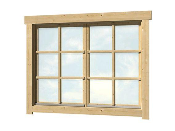 Doppelfenster Mit Sprossen Gartenhaus Holz Gartenhaus Fenster