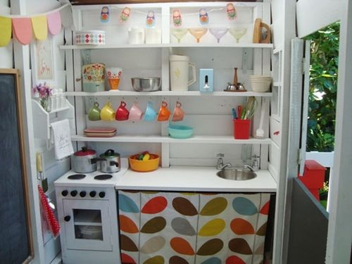 112 best KIDS {Playhouse} images on Pinterest | Play kitchens ...