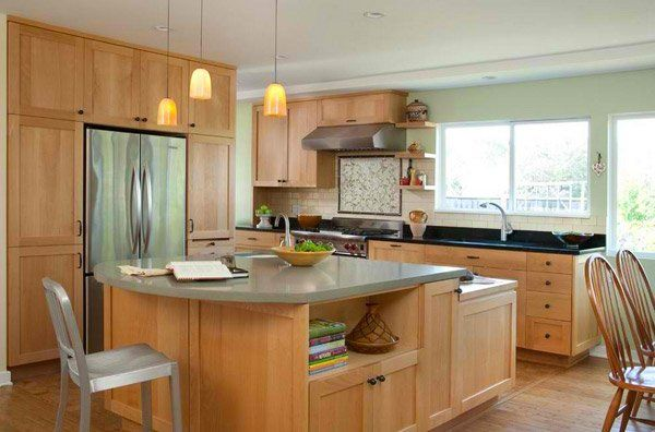 15 Contemporary Wooden Kitchen Cabinets Home Design Lover Contemporary Kitchen Cabinets Kitchen Design Ikea Kitchen Design