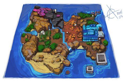 Bomber Queen World map
