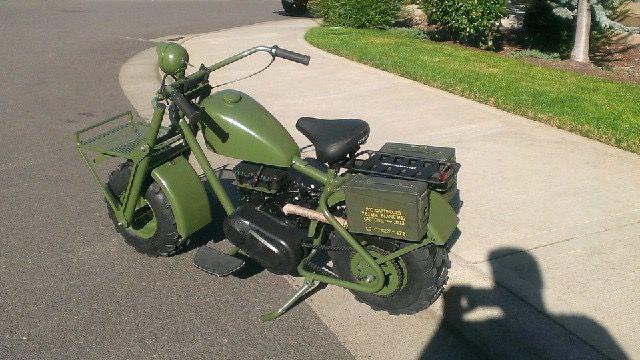 Military Mini Bike