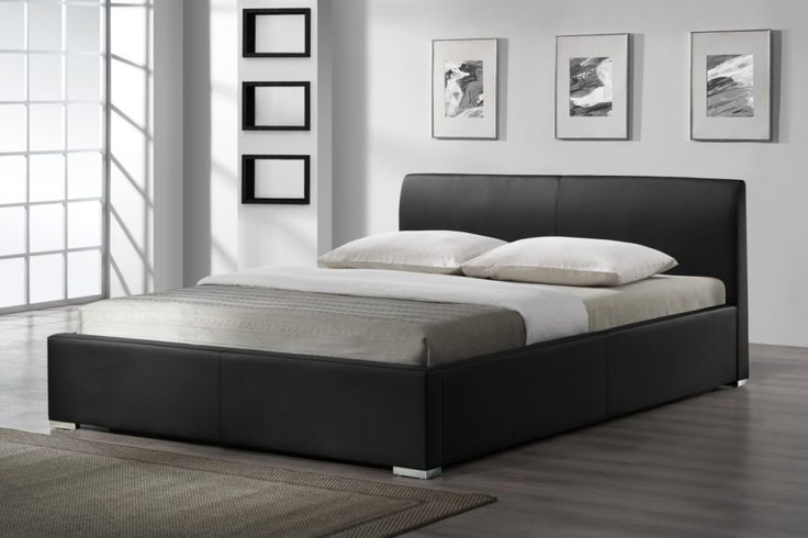Black Queen Bed Frame With Storage
