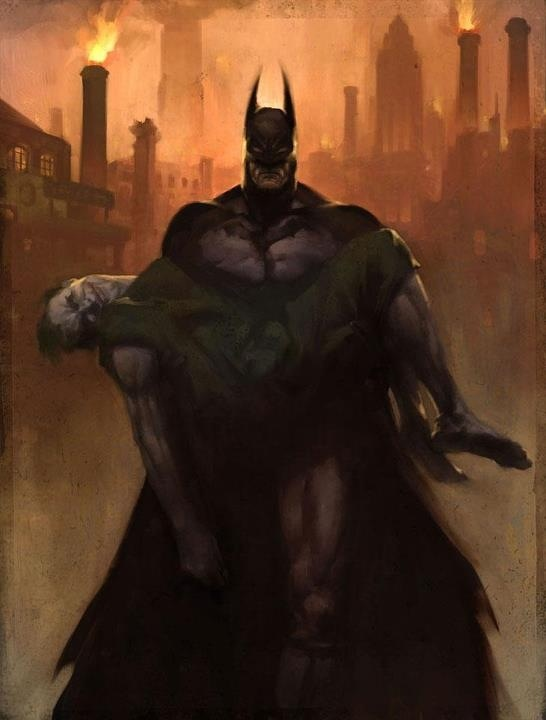 Arkham City Painting