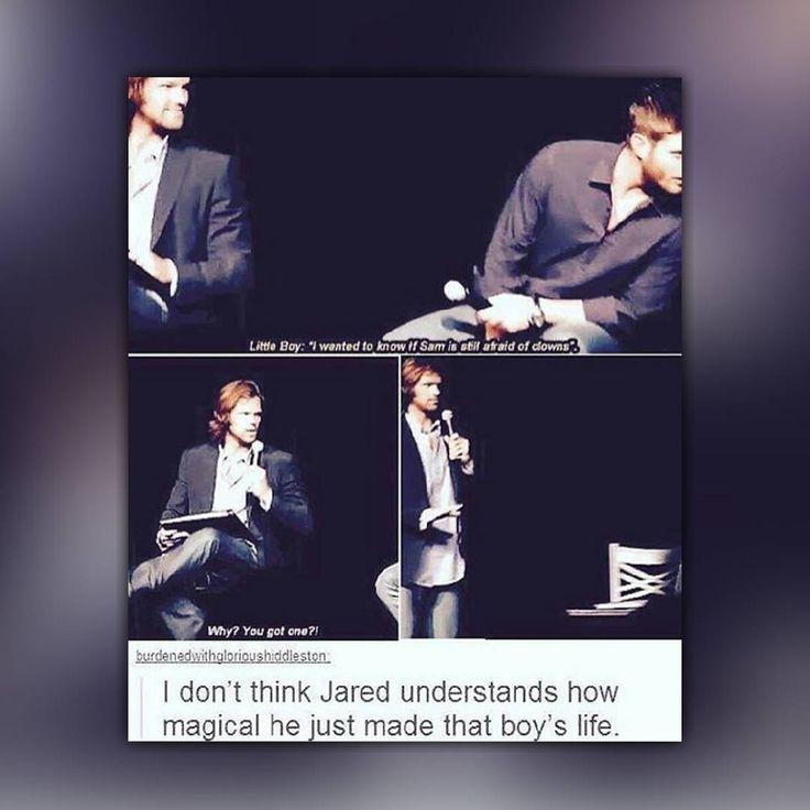Awe. Jared is so sweet