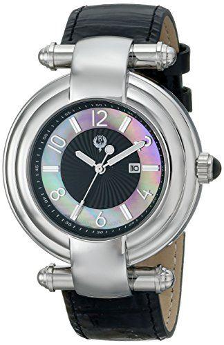 Brillier Women's 31-01 Klassique Analog Display Quartz Black Watch >>> See this great product.