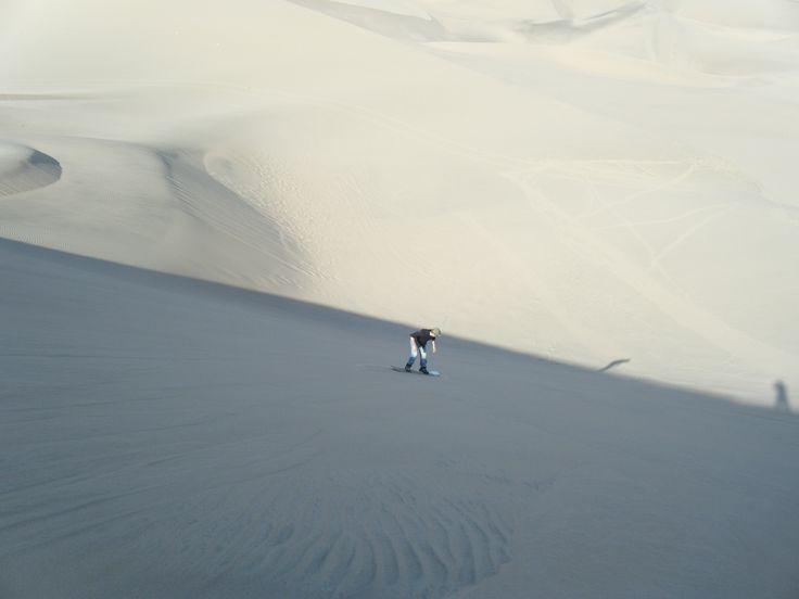 SandBoard nel deserto