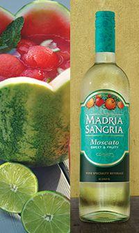 Madria Sangria - Sunny Sangria Watermelon Bowl
