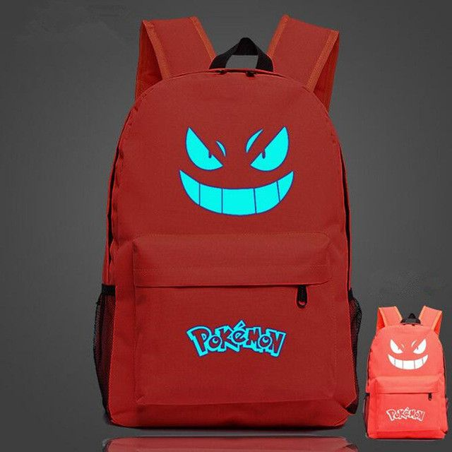Pokemon Luminous School Bags Children kids Girls Boys Bag For Teenagers Mochila Backpacks schoolbag cartoons cartable