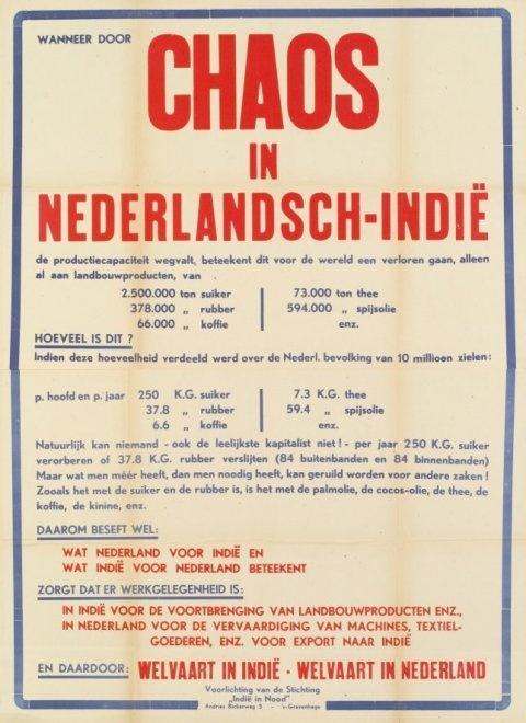Chaos in Nederlandsch-Indië