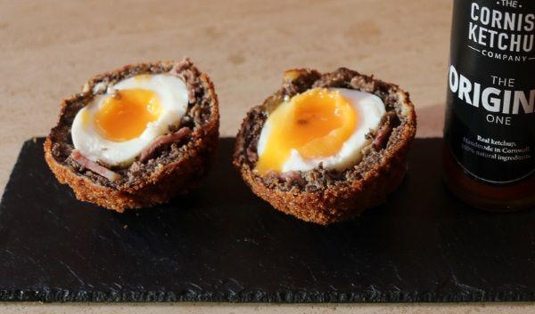 English Breakfast Scotch Eggs