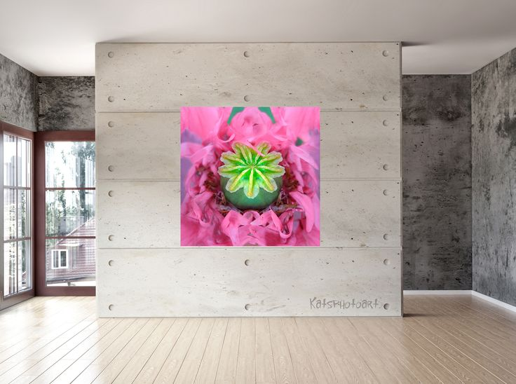 "Kats original ""Beauty"" Certified Fine Art PhotoRag print. 100x 100 cm Diasec 2 mm mat acrylaat / 4 mm Alu-Dibond."